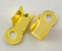Veterklemmetje goud klein