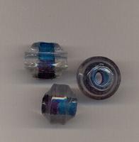 Blauwe/paarse kraal
