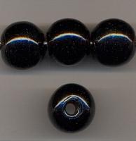 Zwarte kraal opaque