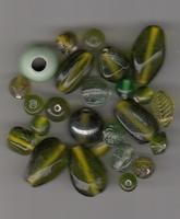 Groene mix kraal MI0120P14