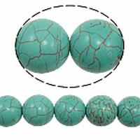 Turquoise rond 16