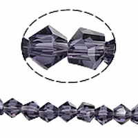 Bicoon Kristal handgeslepen paars