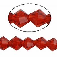 Bicoon Kristal handgeslepen rood