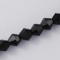 Bicoon Kristal hand geslepen zwart 4