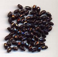 Rijskorrel facet zwart