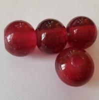 Fuchsia  ronde kraal helder