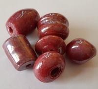 Mix rood/bruine kleur 16--35 mm