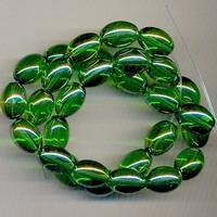 Ovaal kraal groen