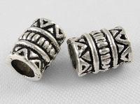 Tibetaans zilver buis kraaltje