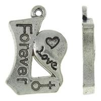 Liefdes symbool love forever zware kwaliteit