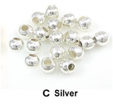 Sier kraaltje zilver 110