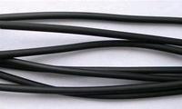 Rubber hol zwart erg leuk voor de wikkel armband