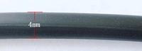 Rubber hol zwart 4