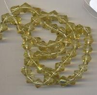Kristal machinaal geslepen.geel 6