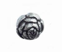 Antiek zilver bloem