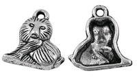 Leeuwtje antiek zilver