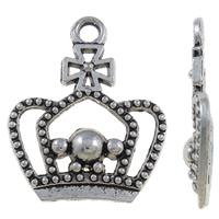 Kroontje  antiek zilver