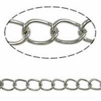 Twist ovaal  zilver