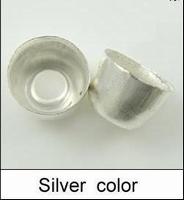 Eind kapje bel zilver