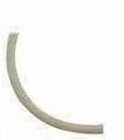 Rubber hol wit erg leuk voor de wikkel armband