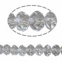 Kristal rondel helder