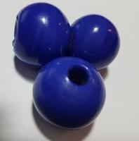 Donker blauwe kraal opaque