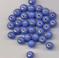 Blauwe kraal opague 6