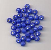 Donker blauwe kraal opaque 6