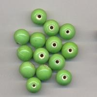 Groene kraal opaque 10