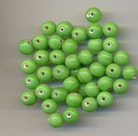 Groene kraal opaque 6