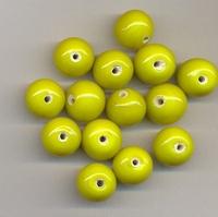 Gele kraal opaque 11