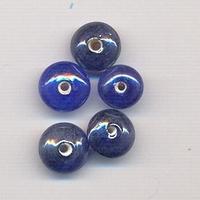 Donker Blauw rondel klein