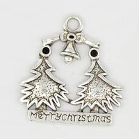 Kerstboom antiek zilver