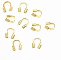 Staaldraad beschermer goud te gebruiken als eind ring