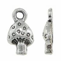 Paddestoel antiek zilver