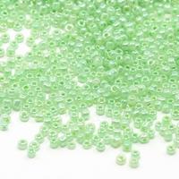 Mint groen opaque  luster