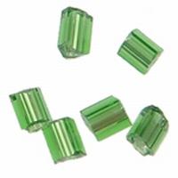 Buisje mini donker groen zilverfolie