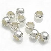Overzet kraal 5 zilver mooie afwerking op je knijpkraal