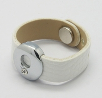 Ring van wit immitatie leer