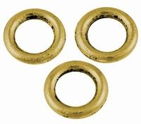 Ringetjes dicht goud