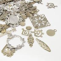 Mix van metalen ook voor mixed media schlderijen