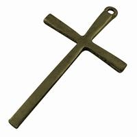Kruis glad brons