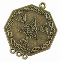 Verdeler plat brons