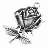 Roos antiek zilver