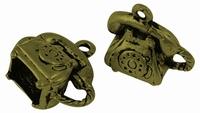 Telefoon antiek brons