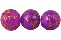 Paars/violet goud plated ondoorzichtig