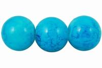 Blauw licht marmer effect