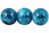 Blauw Marmer effect