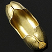Slotje voor balletjes ketting goud kleur