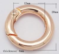 Ring sluiting Champagne Gold